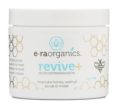 Reconnended Microdermabrasion Scrub by Era Organics